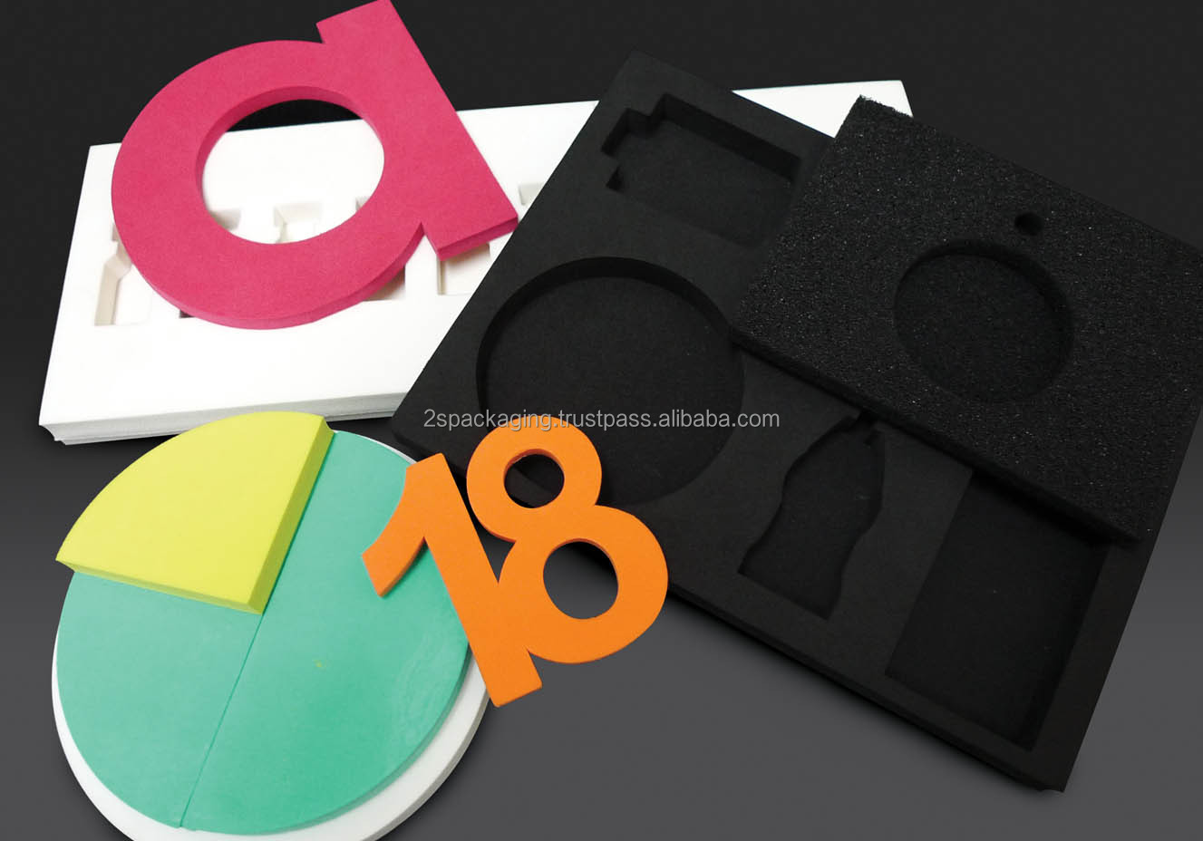 Die Cut PU, EVA, PE Foam Tape with Custom Size and Shape According to Client Request
