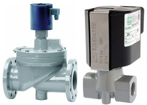 Buschjost Solenoid valves without differential pressure