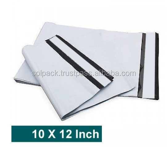 Available In Different Sizes Tamper Proof Plastic Courier Bag Envelopes