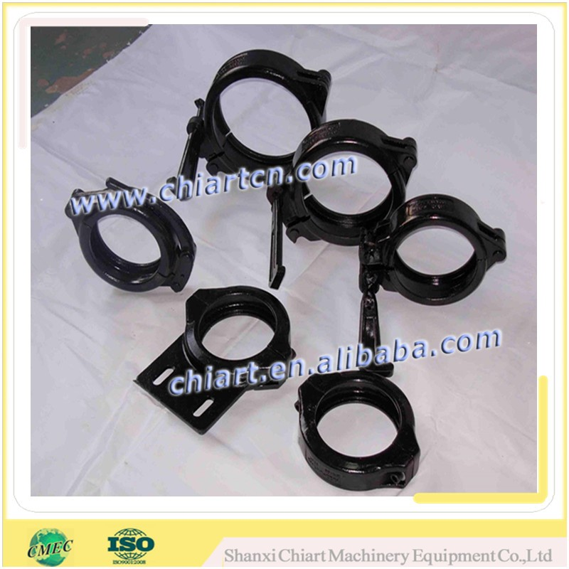 concrete pump forged pipe snap clamp