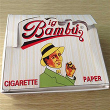 Original Big Bambu Pure Hemp Cigarette Rolling Papers