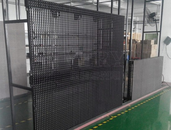 P12.5-12.5 Outdoor SMD Led Strip Curtain Display/led billboard display/full color led display