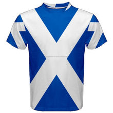 Scotland Sublimated Flag Printed T-Shirt,Custom Design t-Shirt