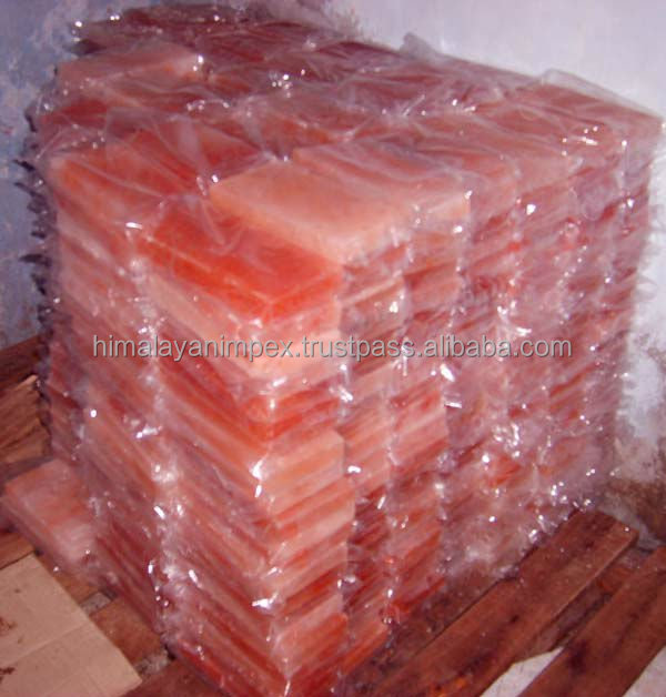 Himalayan Rock Salt Bricks/ Tiles/ Blocks/ Slabs(wonderful color and accurate sizes)