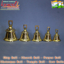 High polished brass ship church bell for sale