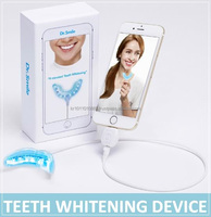 Teeth whitening kit with blue LED, Teeth whitening gel, Teeth whitening