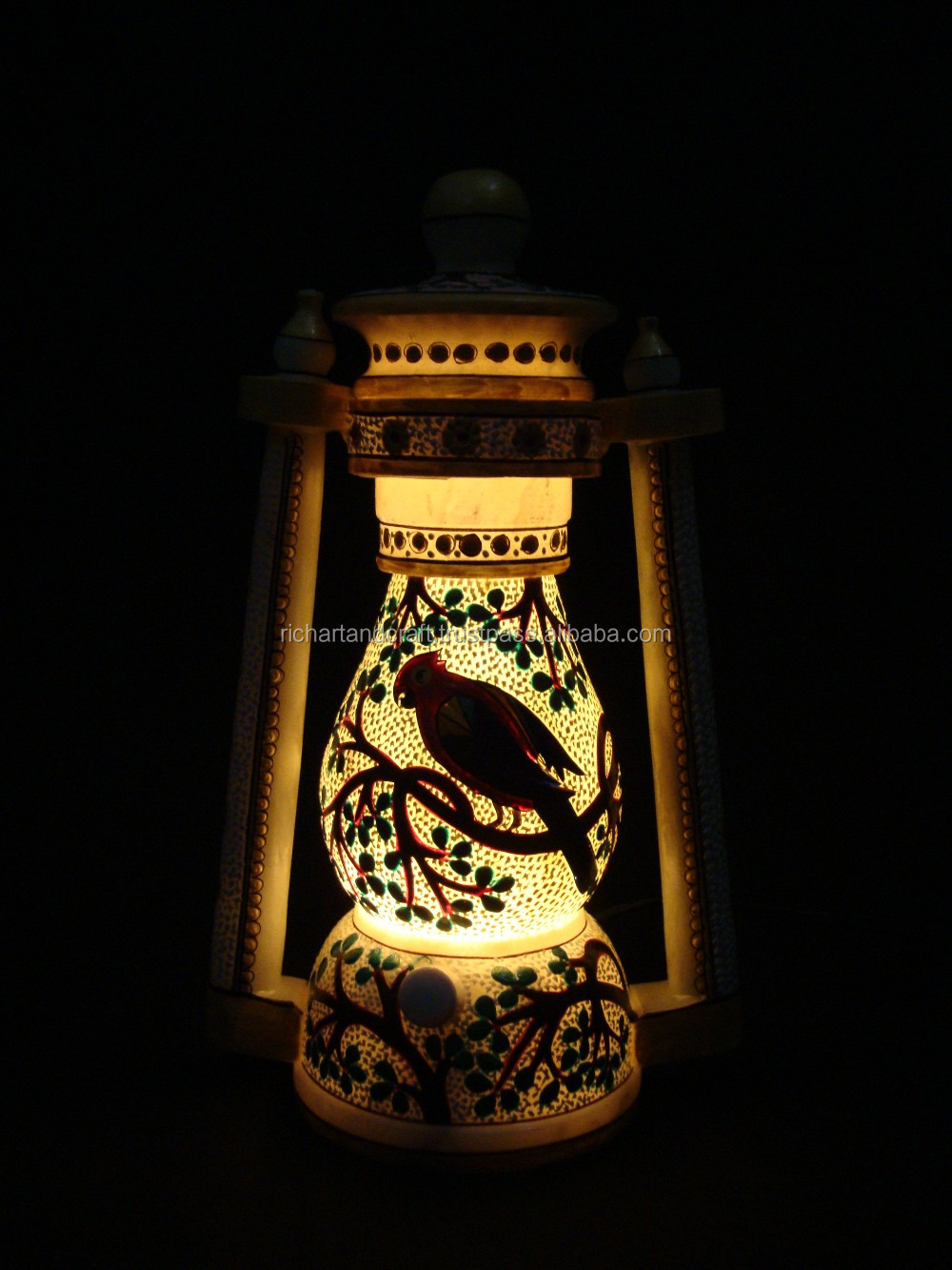 Natural Rich Arts And Crafts Marble Stone Night Lamp Home Decor Gift xmas gift Handmade lantern