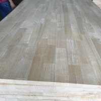 Rubber wood finger jointed board for china/india market
