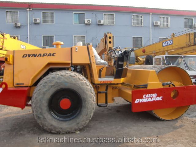 Second-hand Road Roller Dynapac CA301D for sale