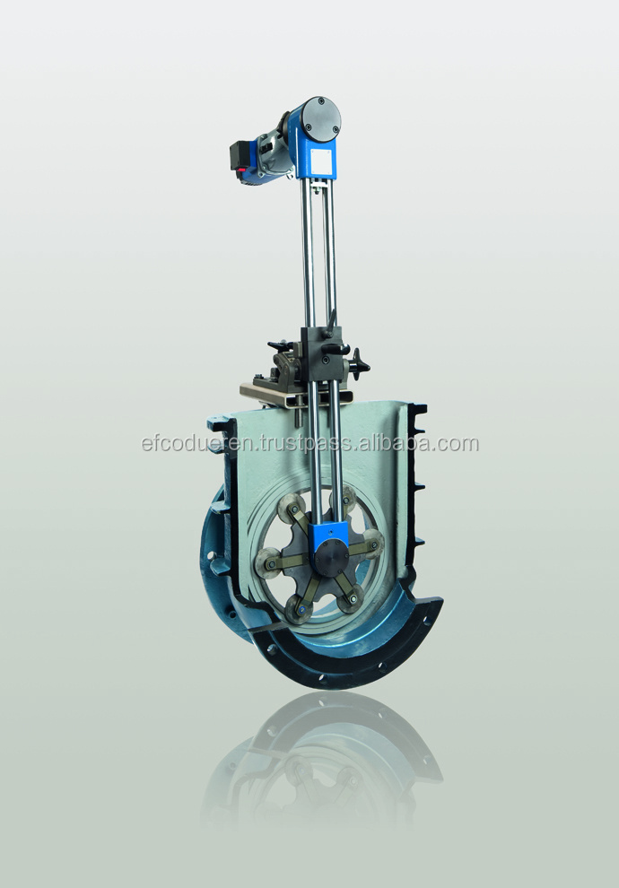 SL- 15 - Portable grinding machine for machining sealing surfaces in gate valves