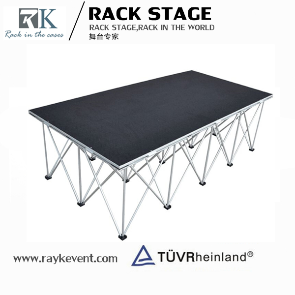 Manufacture supply aluminum fashion show stage equipment runway truss