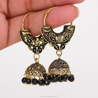 Wholesale Antique Design Gold Plated Bali Jhumka Fashon Jhumka