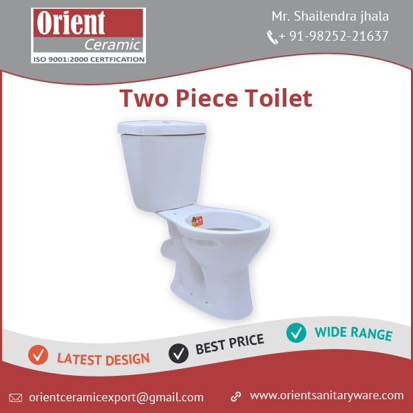 Best Quality Affordable Price Two Piece Toilet in Bulk
