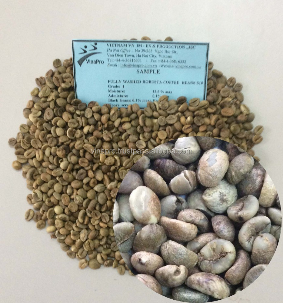 VIETNAMESE MANUFACTURER OF HIGH QUALITY ROBUSTA GREEN COFFEE BEANS