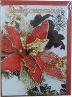Tradtitional English Merry Christmas 2015 Greeting Card