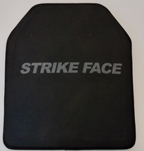 E1012-301Level III ICW Single Curve Ceramic Ballistic Plate Bulletproof Vest Plate