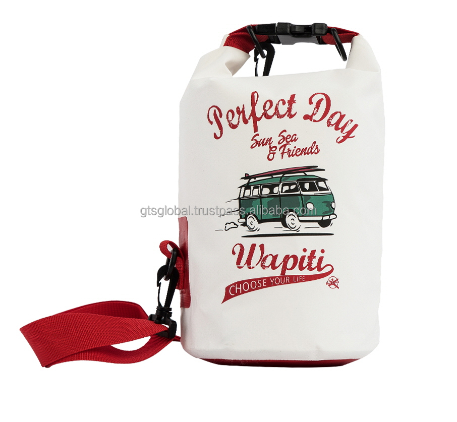 Printed Bus dry bag 5L, outdoor bag, Traveling bag, Water proof Fashion accessory - BALLOP
