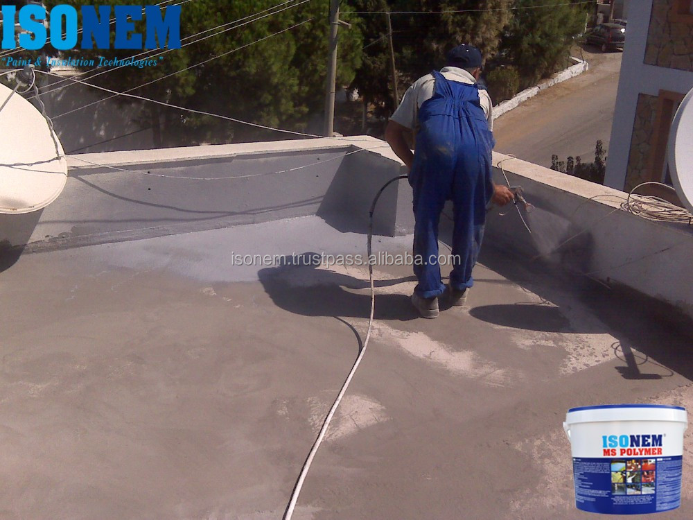 ROOF AND FLOOR WATERPROOFING MATERIAL, ISONEM MS POLYMER, ONE COMPONENT