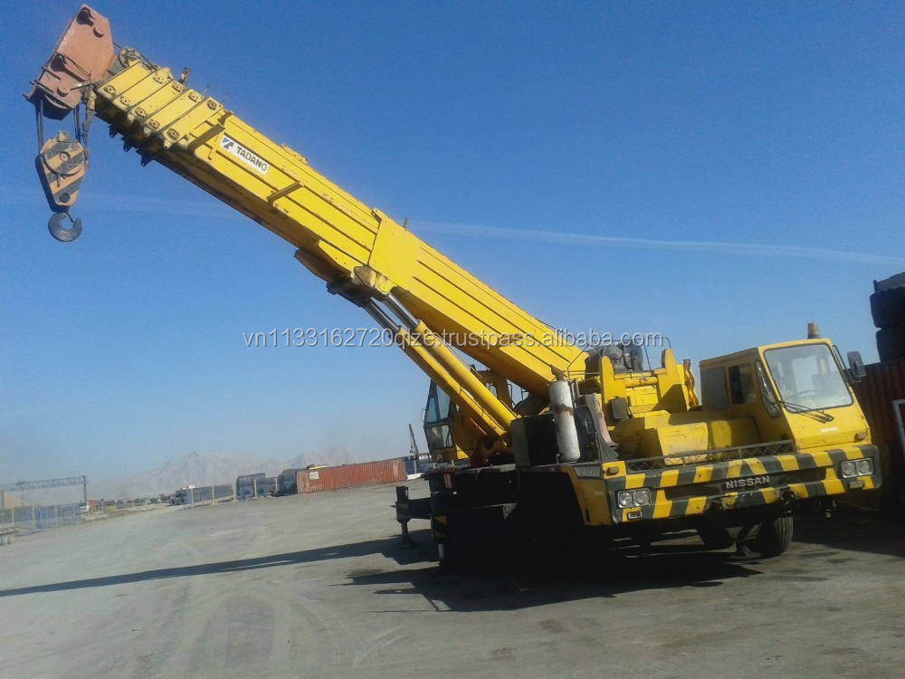 120 ton mobile crane 100% Original Tadano TG1200M used crane for sale