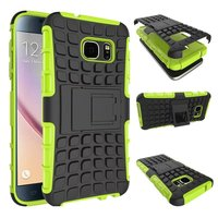 Shockproof Stand Hard phone cases armor for samsung galaxy s6 edge plus cases 5.7