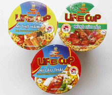 Cup Instant Noodles 60g Korean Style Hot & Sour Flavour - Made in Vietnam