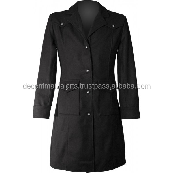 Disposable Hero Military Uniform Style Short Length Gothic Coat