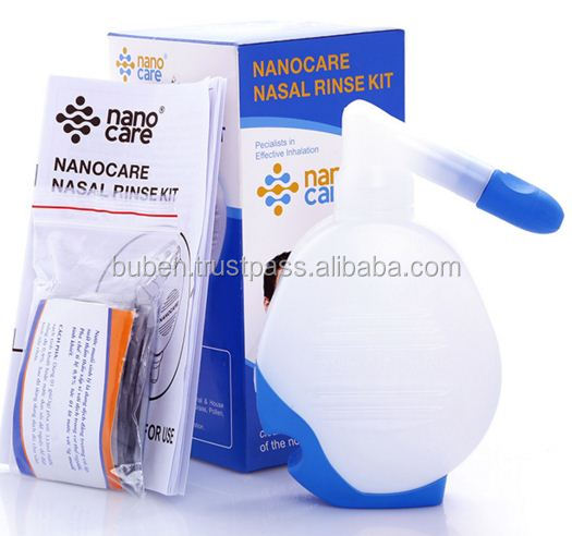 Factory of Nasal Rinsing sinus Bottle with extra 10 salt bags new 2016 hot sales products low prices