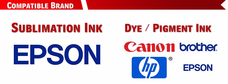 Colorful Textile Refill Inkjet Pigment Ink For Epson Brother Hp