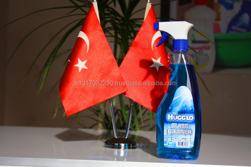 HUGGLO WINDOWS LIQUID GLASS CLEANER 500 ML FROM TURKEY ISTANBUL
