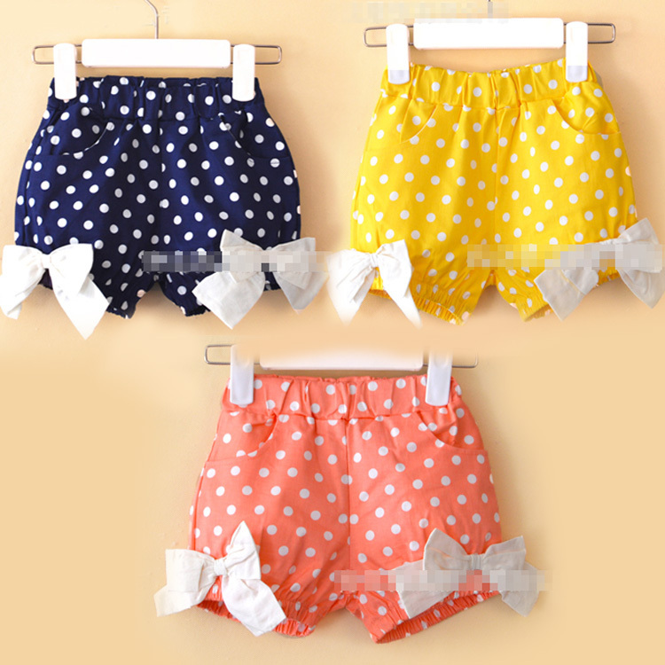 Fancy Custom Made Kids Boys Girls Baby Childre Cotton Lycra Denim Shorts Tracks Pants Girls bright color Shorts Kids Summer Wear