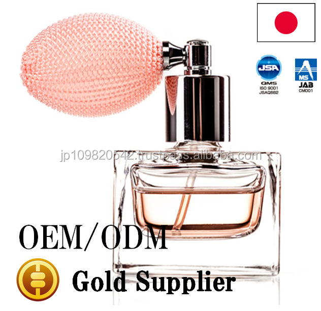 Hygienical GMP standard OEM perfume with pleasant scent made in Japan
