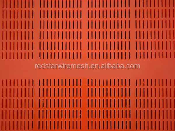 0.5mm highly wear resisttant polyurethane screen media