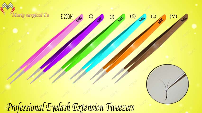 Most Popular Models Of Eyelash Extension Tweezers / Get Best Tweezers With Your Own Brand Name From maig surgical pakistan