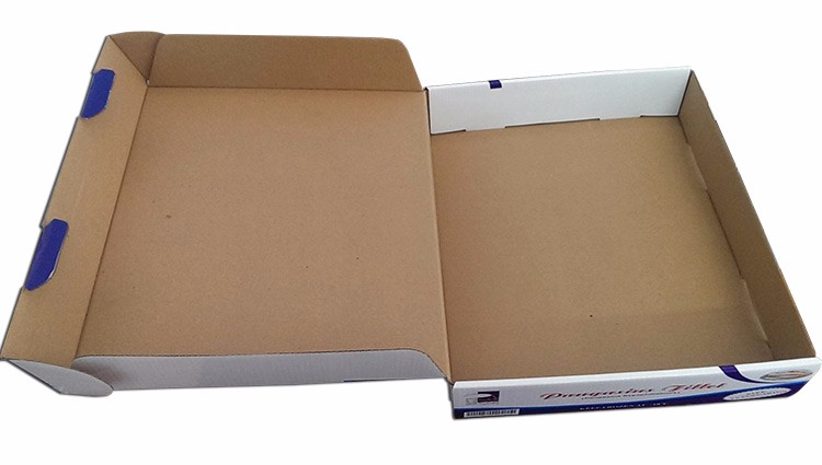 Corrugated seafood paper box with high quality