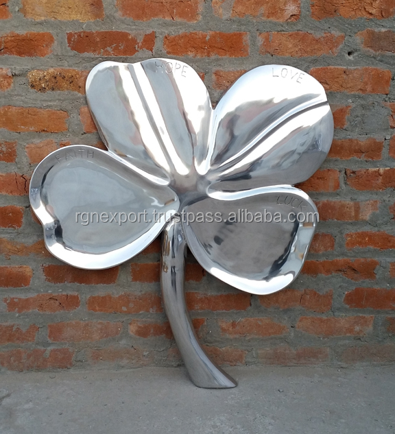 Metal Wall Leaf
