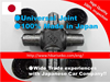 small-sized and Top quality captain mini tractor Universal Joint for automotive supplies small lot order available