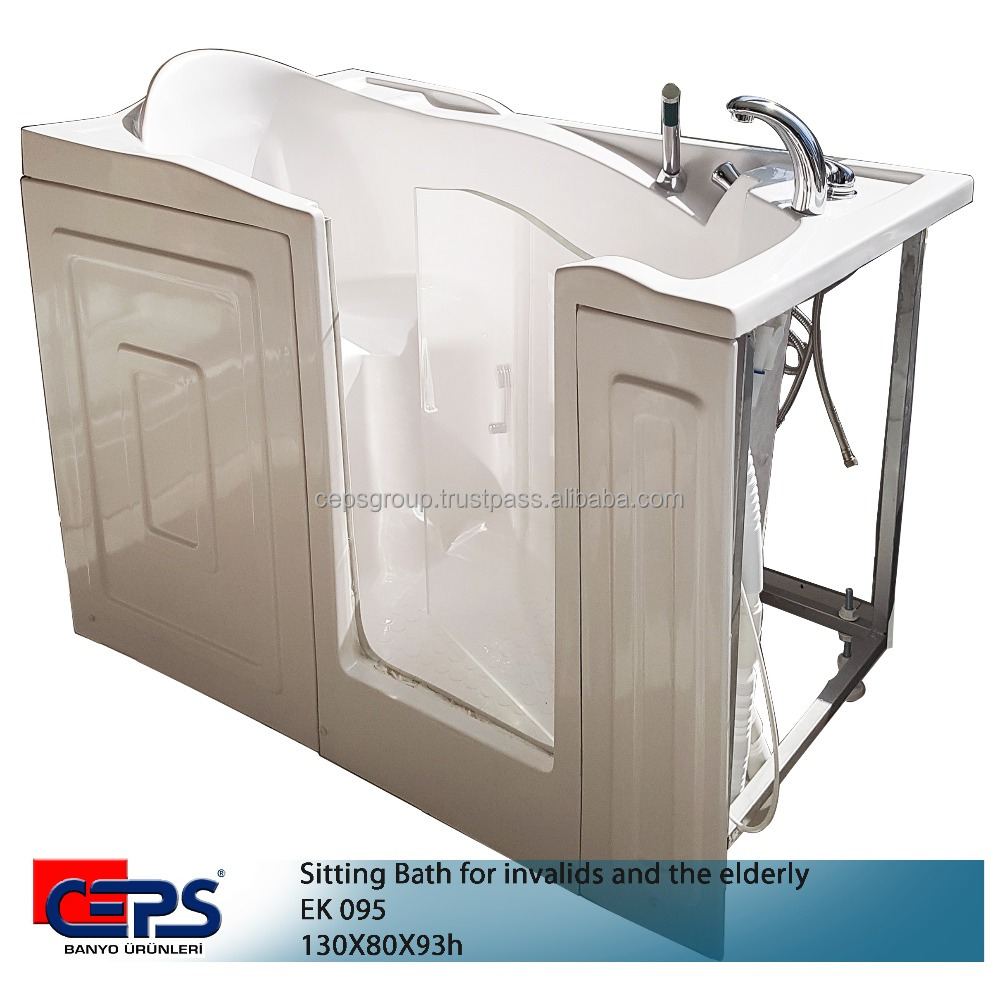 Bath for invalids and the elderly /seat bath for elderly people/ sitting bath for special people