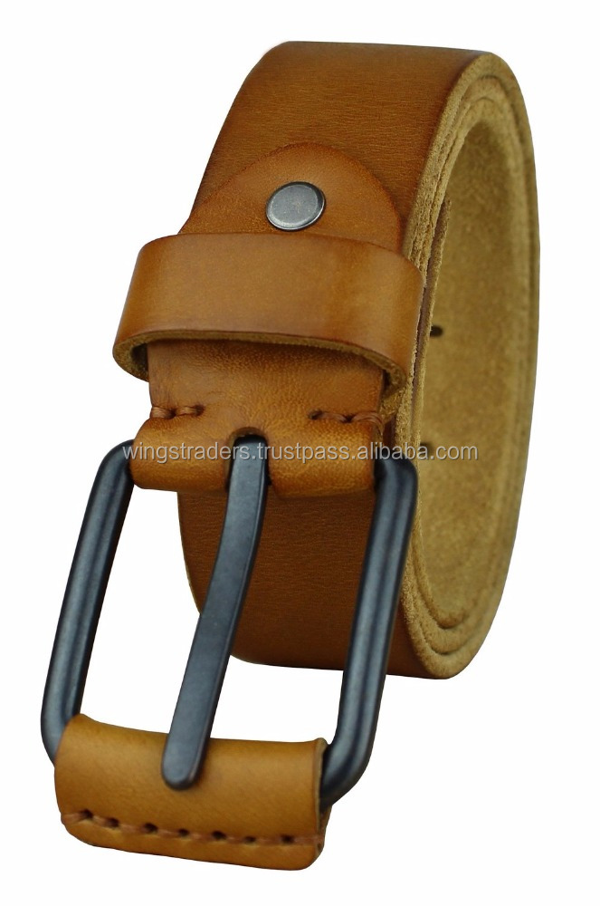 Stylish Design Men's Smooth Leather Belts,Pure Leather Belt