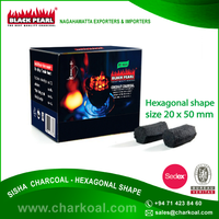 Very Little Ash Coconut Hookah Charcoal at Reasonable Cost