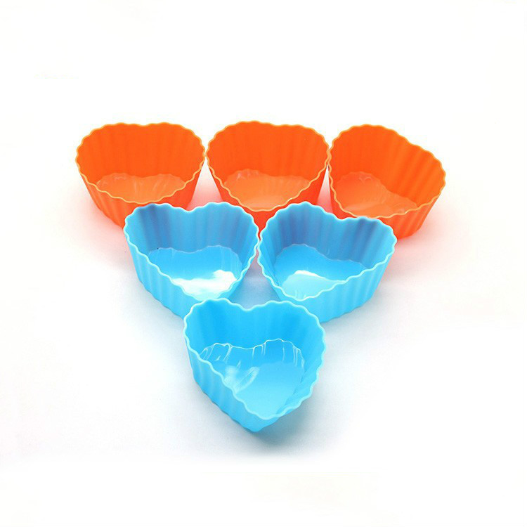 Wholesale Food Grade Silicone Cup cake Moulds