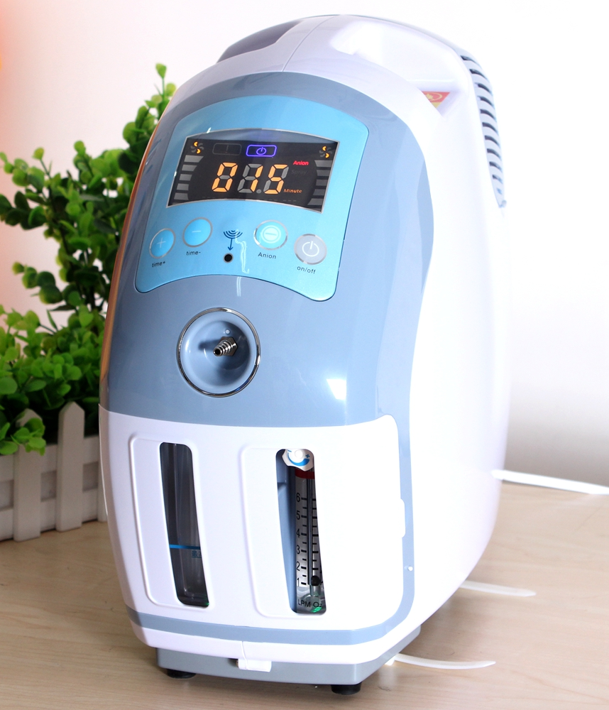 1-6L 93% Purity 110V/220V Oxygen Generator with air purifier Atomizer