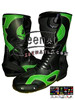 Vr 46 Green Leather Motorbike racing Boots LMB-28
