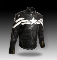 2016 Best top quality leather motorcycle racing jackets for wholesale