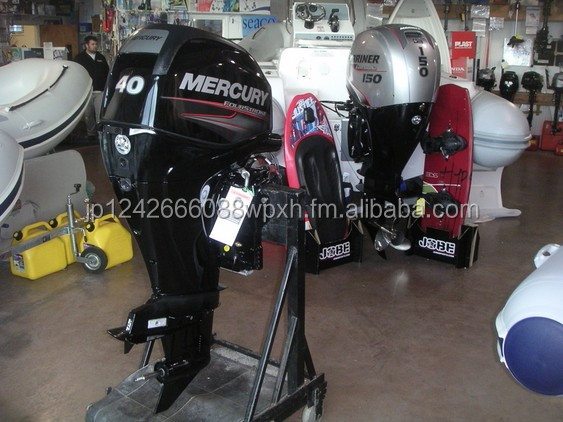 Used Mercury 40HP 4-Stroke Outboard Motor