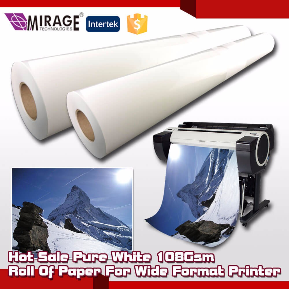 24Inch X 45Meters Inkjet Matte Photo Background Paper Roll