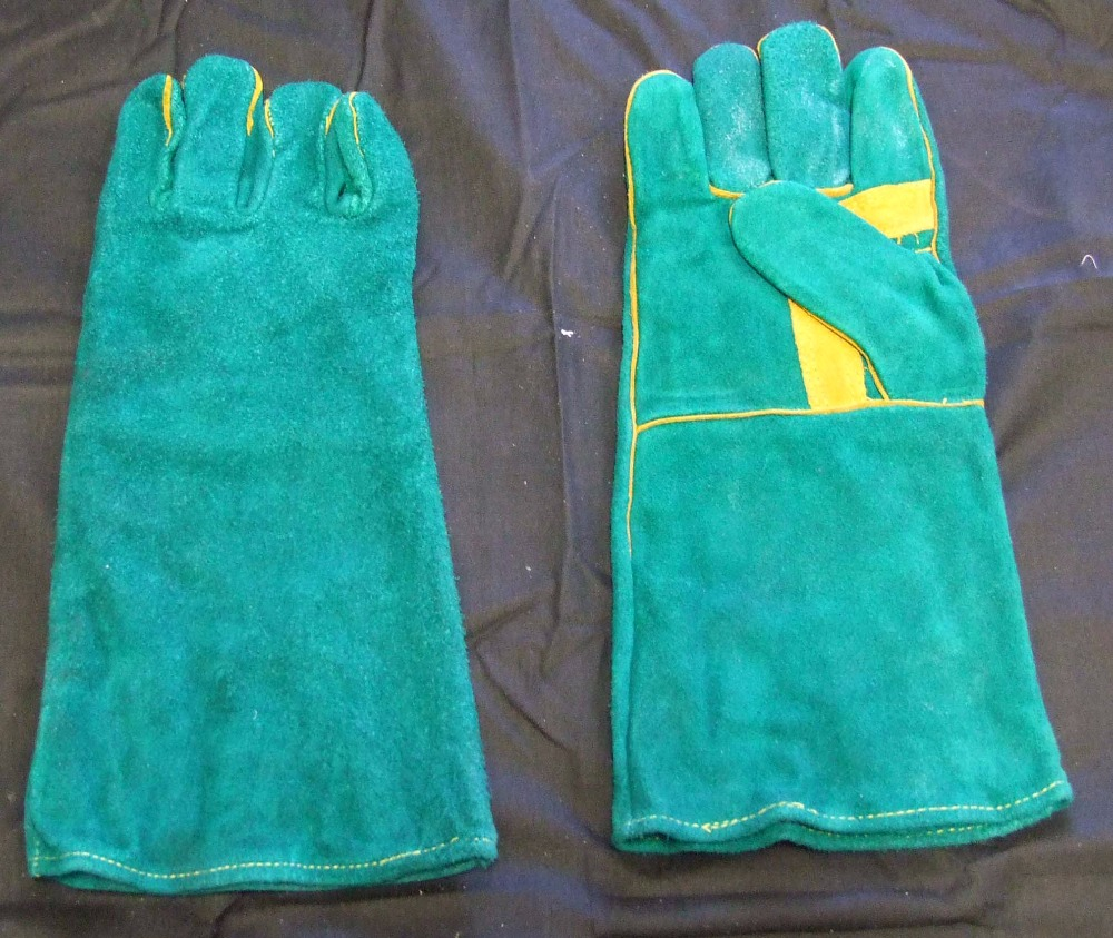 Cheap Leather Thin Working Gloves 707