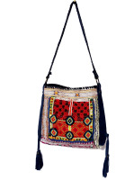 HANDMADE WOMEN'S LEATHER CROSS BODY BAG VINTAGE PATCHWORK GIRL'S SHOPPER BAG WHOLESALE 2016