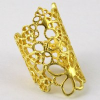 Royal Design !! Plain Silver Gold Plated 925 Sterling Silver Ring, All Over World Shipping, Winter Silver Jewelry