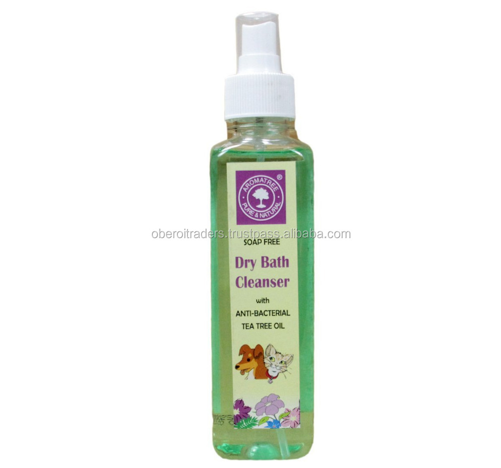 Aroma Tree Dry Bath Cleanser with anti-bacterial tea tree oil, 240 ml