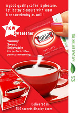Sugar tasting natural coffee sweetener